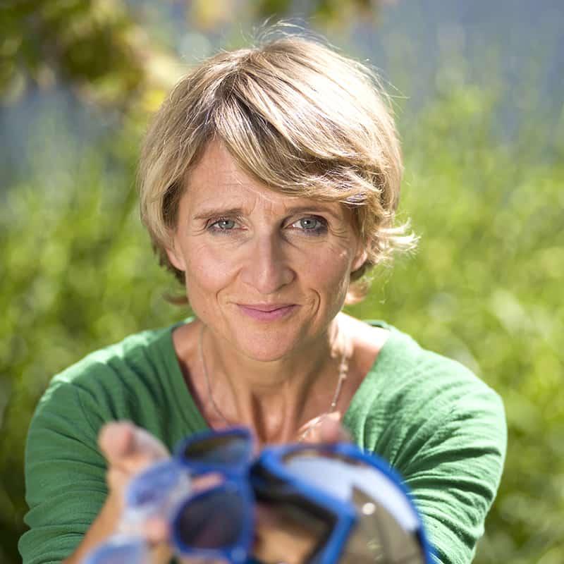 Susanne Pawlik - zeigt Brillen